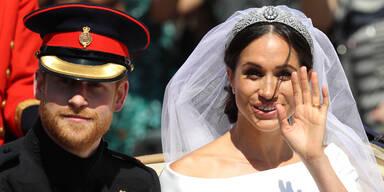 War Meghan schon bei der Hochzeit schwanger?