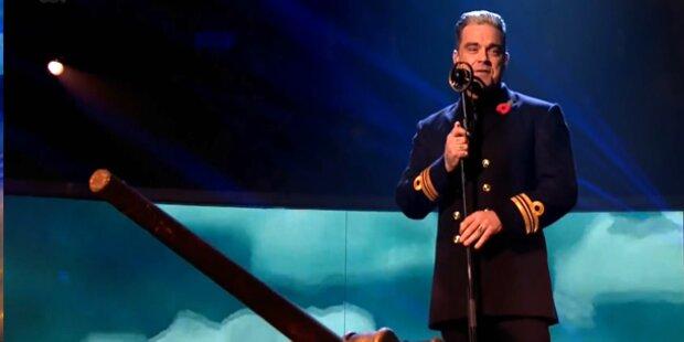 Robbie Williams: Run auf Swing-Show-Tickets