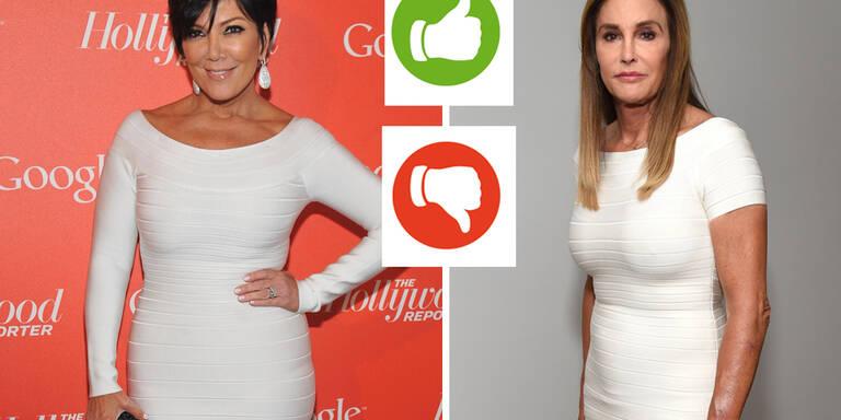 Wer trägt es besser? Ex-Frau oder Ex-Frau