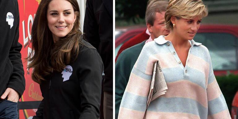 Kate trägt die gleichen Sneakers wie Diana
