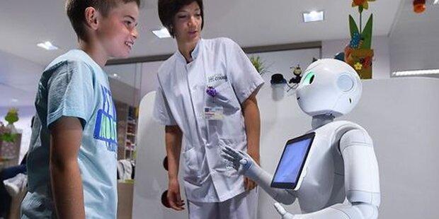 In diesen Krankenhäusen begrüßen Sie Roboter