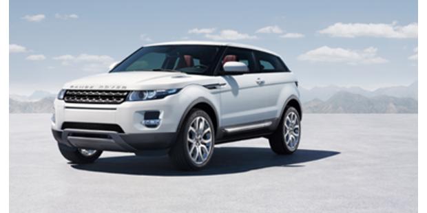 Weltpremiere des Range Rover Evoque