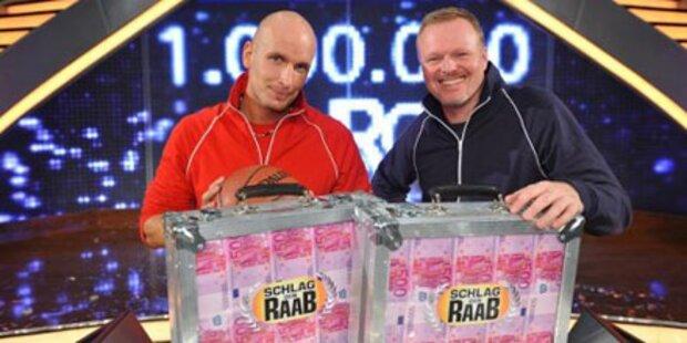 Lehrer schlägt Raab für 1. Mio. Euro