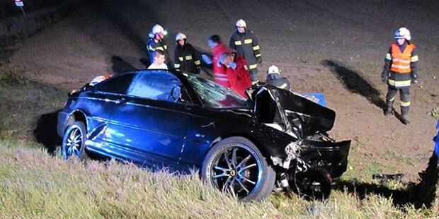 Sekundenschlaf: Eine Tote bei Frontal-Crash
