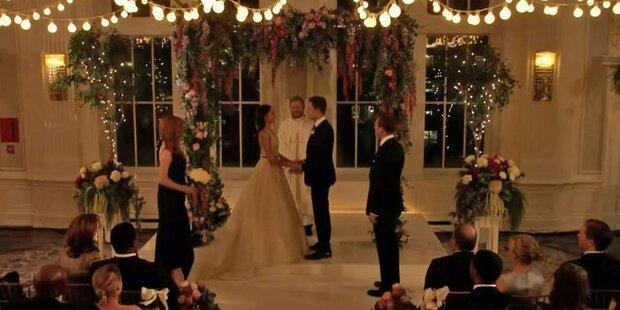Meghan: So schön im Brautkleid