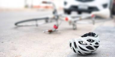 Rad Fahrrad Unfall