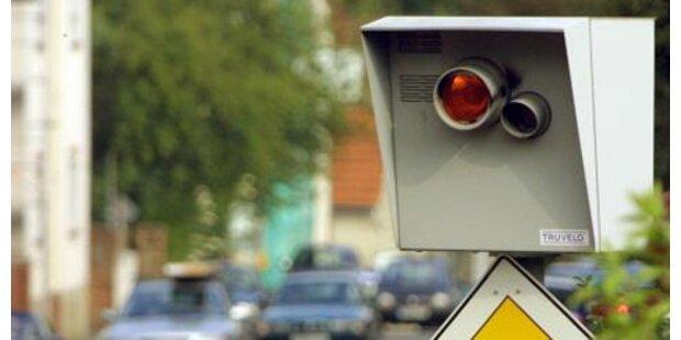 Neue Front-Blitzer in Wien scharf