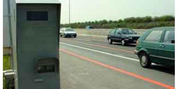 Polizei in Vorarlberg grub gestohlene Radarbox aus