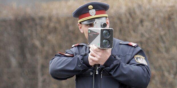 Wirt attackiert Polizisten wegen Tempomessung