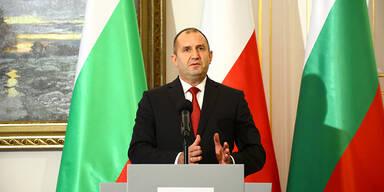 Staatschef Radew fordert Rücktritt der bulgarischen Regierung