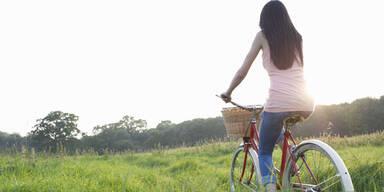 So gesund und schlank macht Radfahren