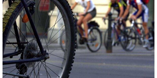 Bei Planquadrat: Radfahrer erlitt Knochenbruch