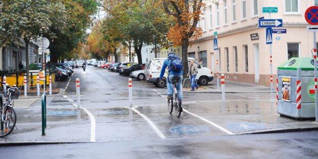 Österreichs Radfahrer sind zufrieden