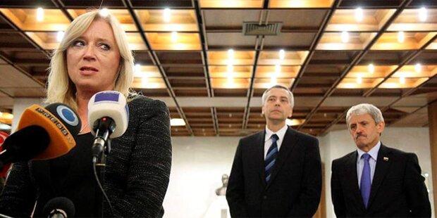 Slowakische Regierung offiziell abberufen