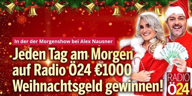Ihre Chance auf 1000 Euro Weihnachtsgeld
