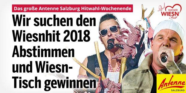 Das Antenne Salzburg Hitwahl-Wochenende