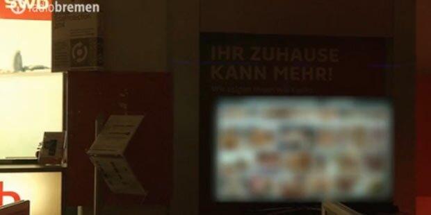 Hacker zeigt Pornos im Schaufenster