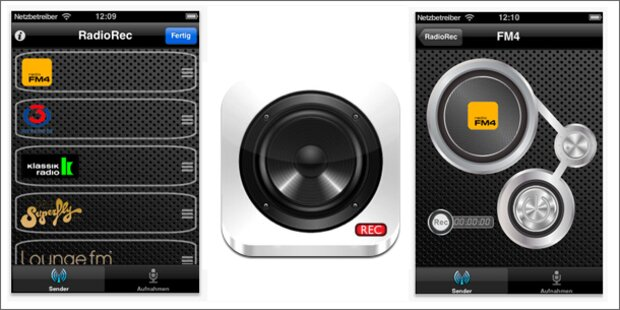 Update: RadioRec Austria für das iPhone ist da