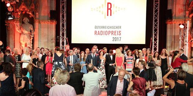 33 Radiomacher erhielten Radiopreis 2017
