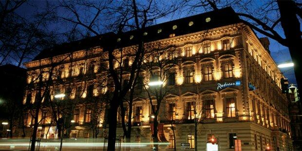 Luxushotel Radisson Blu sperrt zu