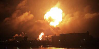 Video zeigt Mega-Explosion von Raffinerie