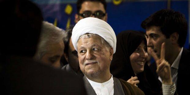 Rafsanjani von Wahl ausgeschlossen