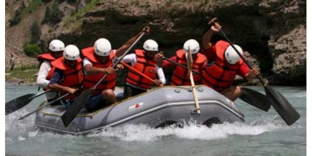Grazerin nach Raftingunfall vermisst