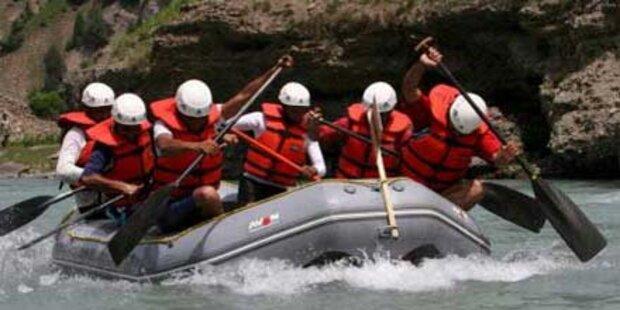 Bürgenländer bei Raftingunfall gestorben