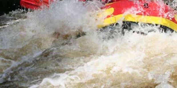 Rafting-Drama in Tirol: Insassen aus Boot geschleudert