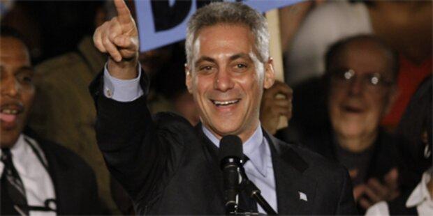 Obama-Freund wird Bürgermeister Chicagos