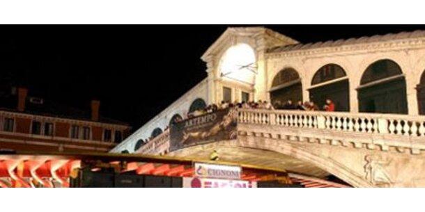 Ratten und Touristen gefährden Rialto-Brücke