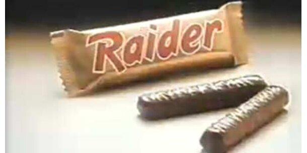 Twix heißt jetzt wieder Raider