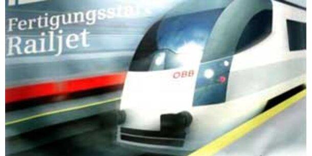 ÖBB starten mit Testfahrten für railjet
