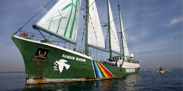 Greenpeace baut neues Flaggschiff