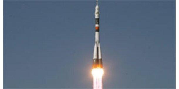 ISS bekommt Besuch von drei Astronauten