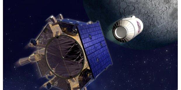 NASA bombt Loch in den Mond
