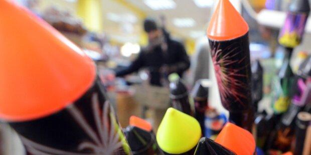 Illegales Feuerwerk in Wien beschlagnahmt