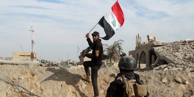 ISIS-Miliz hat 45% ihres Territoriums verloren