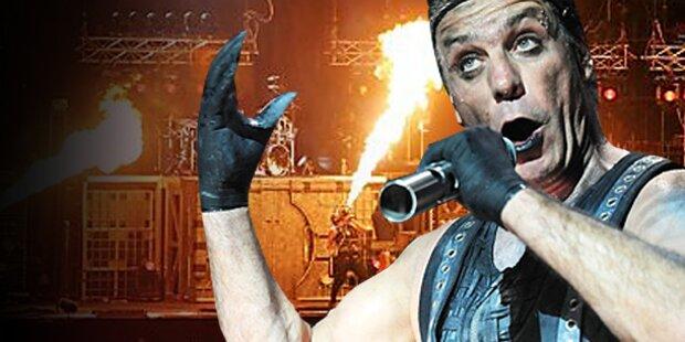 Rammstein rockten wien