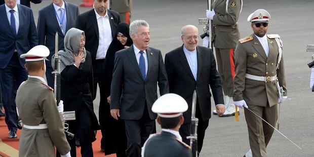 Fischer auf heikler Iran-Mission