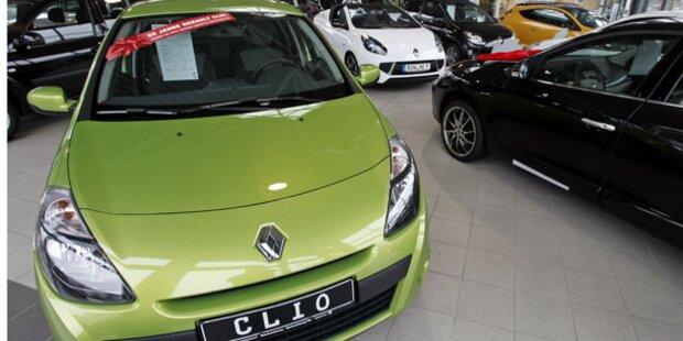 Verkaufsrekord für Renault im Jahr 2011
