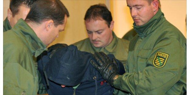 Killer rastet vor Dresdener Gericht aus