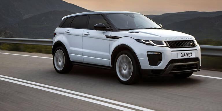 Range Rover rüstet den Evoque auf