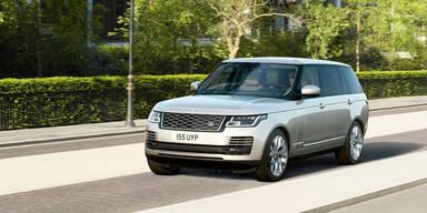 Range Rover jetzt auch mit Plug-in-Hybrid