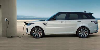 Erster Range Rover mit Plug-in-Hybrid