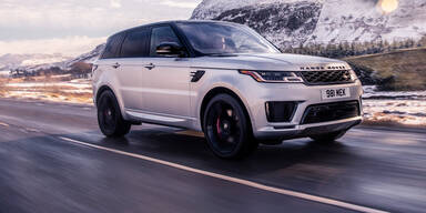 Range Rover Sport mit Reihen-Sechszylinder