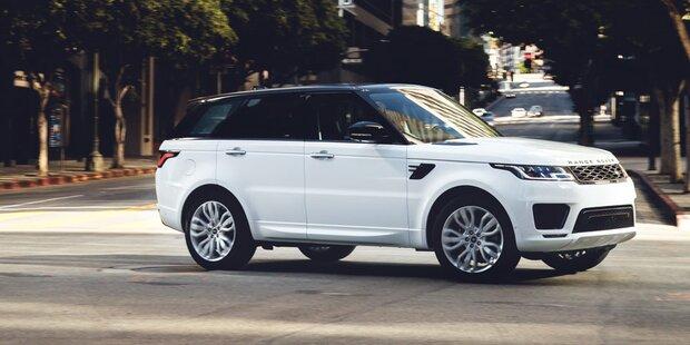 Neuer Motor für den Range Rover Sport