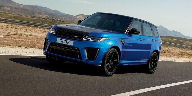 Schnellster Range Rover aller Zeiten