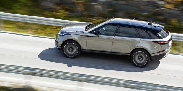 Range Rover frischt den Velar auf