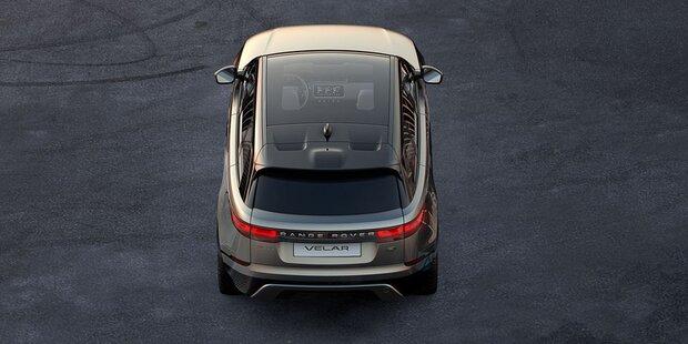 Range Rover bringt den völlig neuen Velar